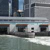 Staten Island ferry slip on Manhattan side