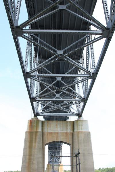 Underside of the Bourne bridge