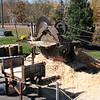 A machine used to make wood shingles