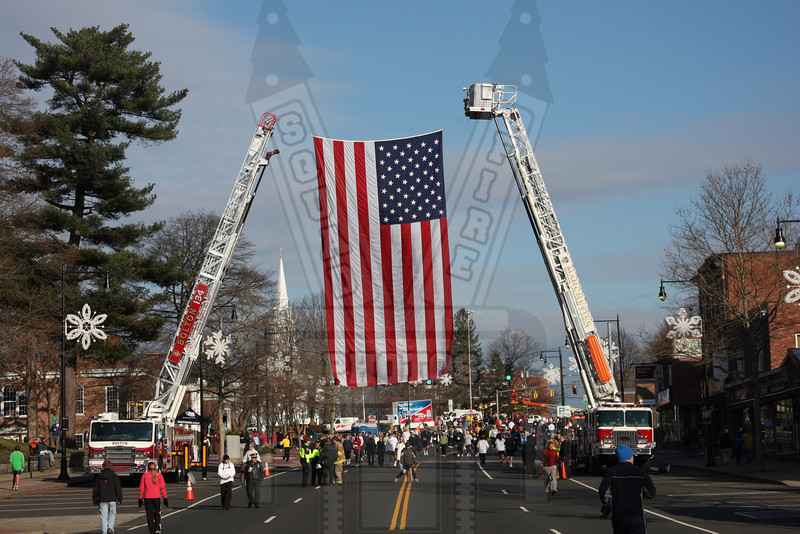 Bolton truck 134 and Manchester 8th district Tower 1 at Manchester road race