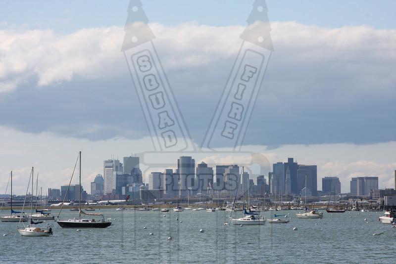Downtown Boston, Ma. skyline