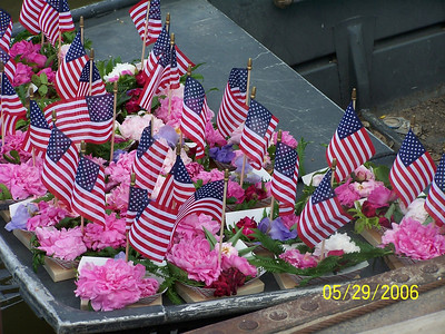 Memorial Day Flower Boats launched each year at Bath,IL
