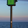 Channel Marker on Lake Michigan