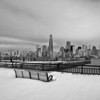 Liberty State Park in Snowf