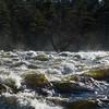 Spray Over Rapids