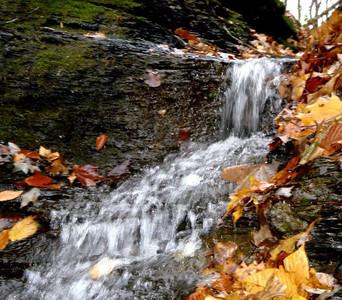 Waterfall at Gore Orphanage. (Photo by Chronicle reader Gary Ackerman.)