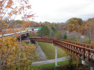 Black River Extension trail by Gary Ackerman.