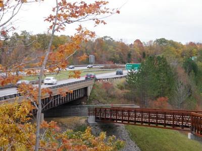 Black River Extension trail by Gary Ackerman.