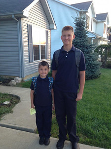 These two are off for third and eighth grades at Elyria Community School.