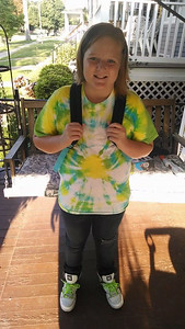 Maddison Lago is ready for fifth grade Franklin Elementary.
