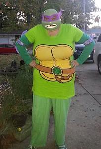 Katherine, 31, shows you never outgrows the Teenage Mutant Ninja Turtles.