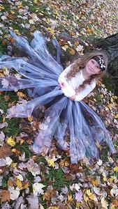 Jadalynn, 6, is ready for Halloween.