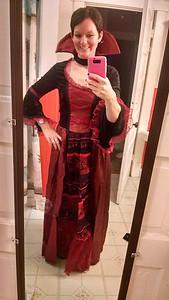 Lisa Szafran is getting into the spirit of Halloween.