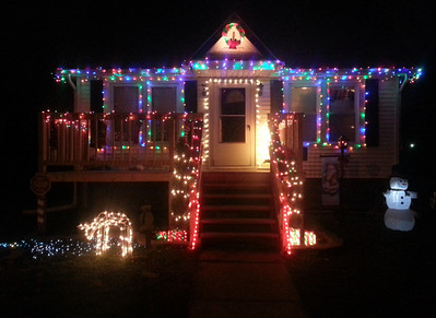 Sara Fox sent this photo of her house on Spruce Street.