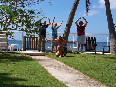 Ohio State fans root for the Buckeyes everywhere, even in Puerto Rico.