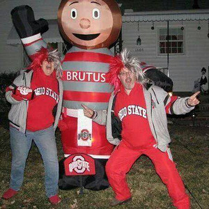 Rich and Lorraine Riegel-Kapalin are crazy for the Buckeyes.