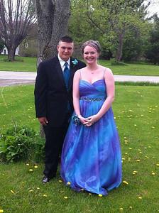 Brandon Wacker and Tasha Arnold attended Black River's prom.
