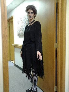 Oberlin Foot and Ankle assistant Amelia Bradstock is all dressed up for the holiday.
