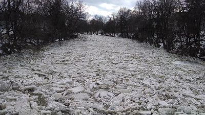 Penny Lynch took this photo of the Black River off the 4th Street bridge on Feb. 21.