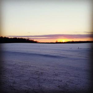 Josh Villa shared this winter scene from Rochester Township.