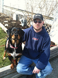"""I am thankful for the two great loves of my life, my boyfriend, Brian Blackstone, and our dog, Chevy the Therapy Dog. They have changed my life in so many amazing ways!"" -Corinne Jaenke"