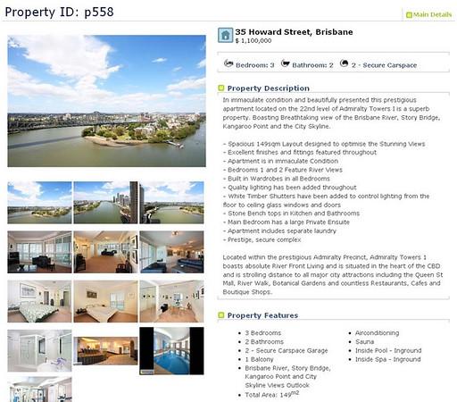 Real Estate Portfolio - Aug 2009