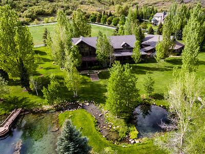 Aerial view Hobble Creek Lodge, Utah 2018