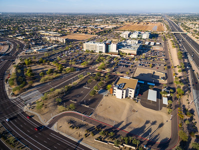 Aerial Photograph of Banner Higley Hospital Mesa, AZ 2018