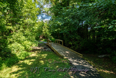 Wooden Bridge on the Nature Trail