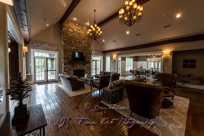 Manor House Interior - Entertaining Room