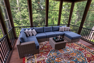 Newly Furnished Porch Enclosure