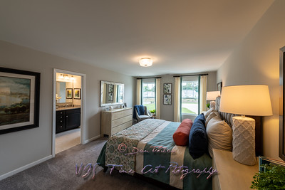 New Master Bedroom in Modern Townhouse