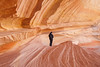 Erin at The Alcove, North Coyote Buttes, AZ - November 2011