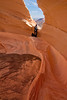 Erin at The North Window, North Coyote Buttes, AZ - November 2011