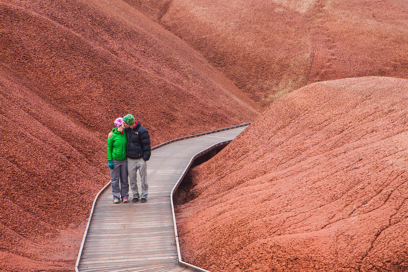 Painted Hills Boardwalk Kiss