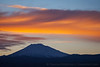 Mt Bachelor with Sunset Skies