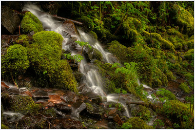 Side Falls, OR, water falls, Oregon, Landscape, Fine art, HDR