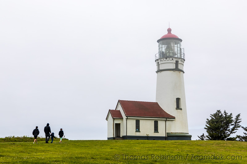 Cape Blanco Light - Overcast Day
