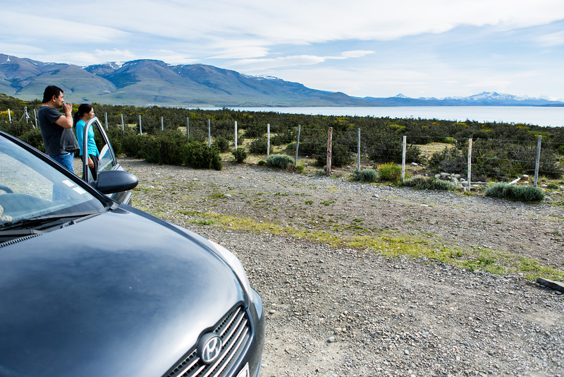 Our driver, who, even after a rockslide took off a finger, spoke of his love for the Patagonian mountains.