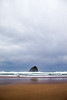 Pacific City Haystack Rock, Horizontal