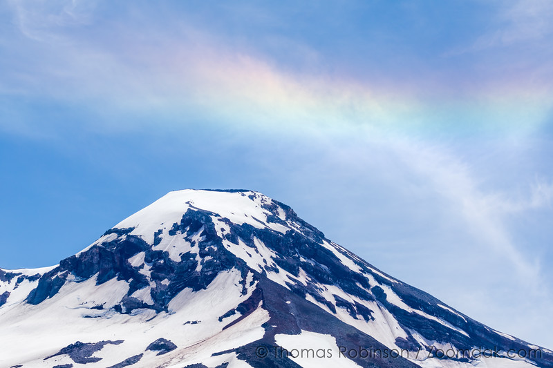 South Sister and Rainbow