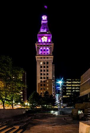 Denvers Historic D & F Clock Tower