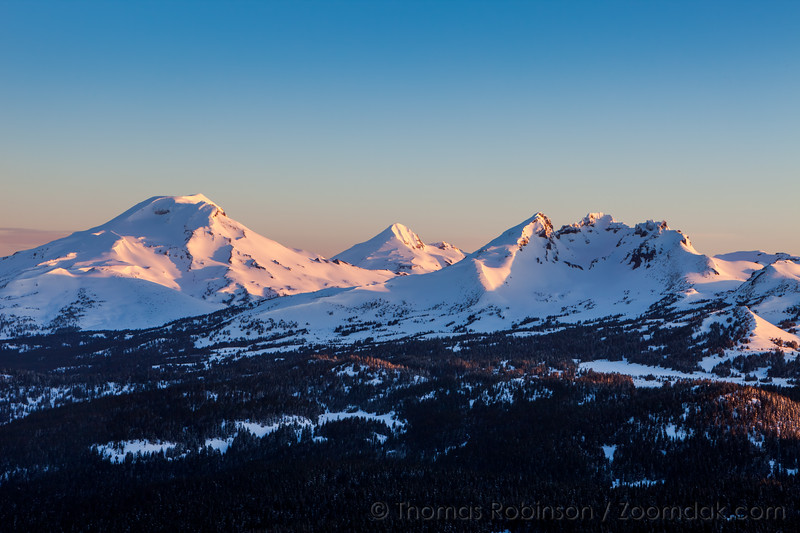 First Light on the Cascades