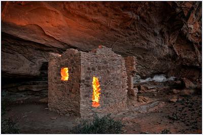Ruins, Anasazi, chaco canyon, New Mexico, fine art, landscape
