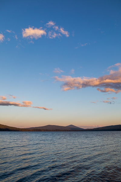 Odell Lake Sunset