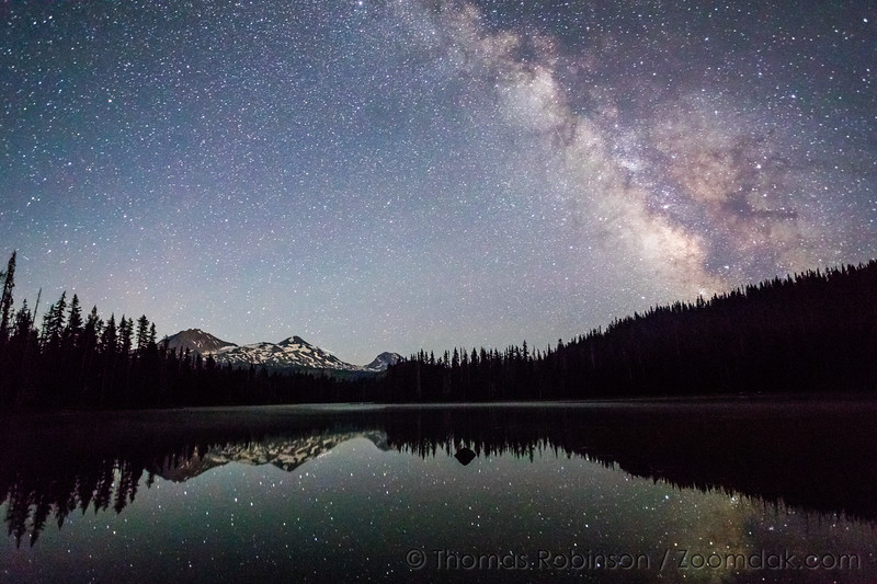 Milky Way Over Scott Lake