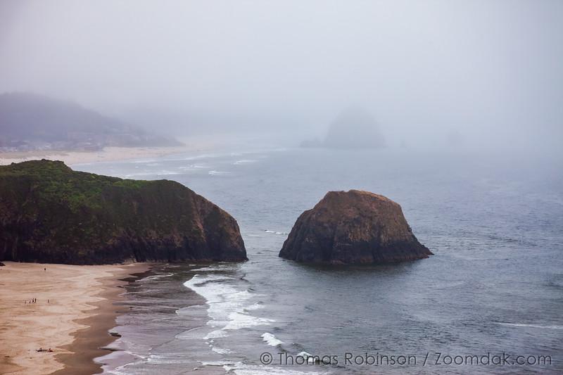 Cannon Beach in the Fog