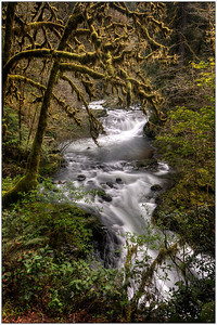 Beautiful River,waterfalls, landscape, OregonR