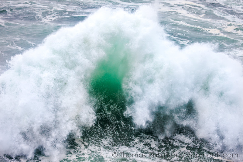 Wave Backwash Explosion