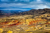 Painted Hills in Afternoon Light